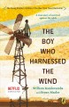 9029 2018-01-04 15:21:53 2019-01-16 06:35:07 Boy Who Harnessed the Wind 1 9780147510426 1  9780147510426.jpg 8.99 7.64 Kamkwamba, William; Mealer, Bryan; Hymas, Anna (ILT) Rich descriptors establish this memoir's compelling setting so that readers feel the African heat , the desperation of starving families seeking sustenance from dry, barren farmland, and the wind's power to help a helpless community. Against this backdrop a small, young boy with an insatiable appetite for knowledge lets curiosity drive his desire to help his family and his village. This is practically a how-to manual for young readers wanting to solve a problem for the greater good. The triumph of grit and determination over naysayers and unceasing obstacles results in hope for generations. Joyfully inspirational. 2019-01-14 01:32:50 G true  1.00000 5.50000 8.00000 0.52000 PENGJ Penguin Group USA PAP Paperback  2016-01-05 293 pages : BK0017052275 Teen - Grade 7-9, Age 12-14 BK7-9         117 2 6 0 0 BT 9780147510426_medium.jpg 0 resize_120_9780147510426_medium.jpg 0 Kamkwamba, William   6.0 Available 0 0 0 0 0 1987 1 0 1997 1 2018-01-23 19:30:04 184 0