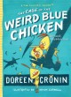 """8629 2016-04-22 08:24:22 2019-11-17 14:15:07 Case of the Weird Blue Chicken : The Next Misadventure 1 9781442496798 1  9781442496798.jpg 12.99 11.04 Cronin, Doreen; Cornell, Kevin (ILT) While it borders on the silly, who can resist a tale with chicken detectives named Dirt, Sweetie, Poppy, and Sugar? Although humorous wrong assumptions complicate their investigative strategy, the Chicken Squad bumbles its way to finding the """"weird blue chicken's"""" missing home, restoring peace and order in their community. Very entertaining — a good choice for reluctant readers.  2019-09-09 01:39:04 J true  0.50000 6.25000 8.25000 0.55000 SIMJU Simon & Schuster HRD Hardcover Chicken Squad 2014-09-30 102 pages : BK0014499076 Children's - Grade 3-4, Age 8-9 BK3-4            0 0 BT 9781442496798_medium.jpg 0 resize_120_9781442496798_medium.jpg 0 Cronin, Doreen   2.8 Available 0 0 0 0 0  0 1  1 2016-06-15 14:41:25 34 0"""